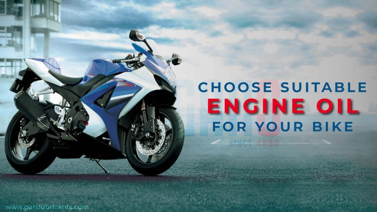 Choose Bike Engine Oil Wisely