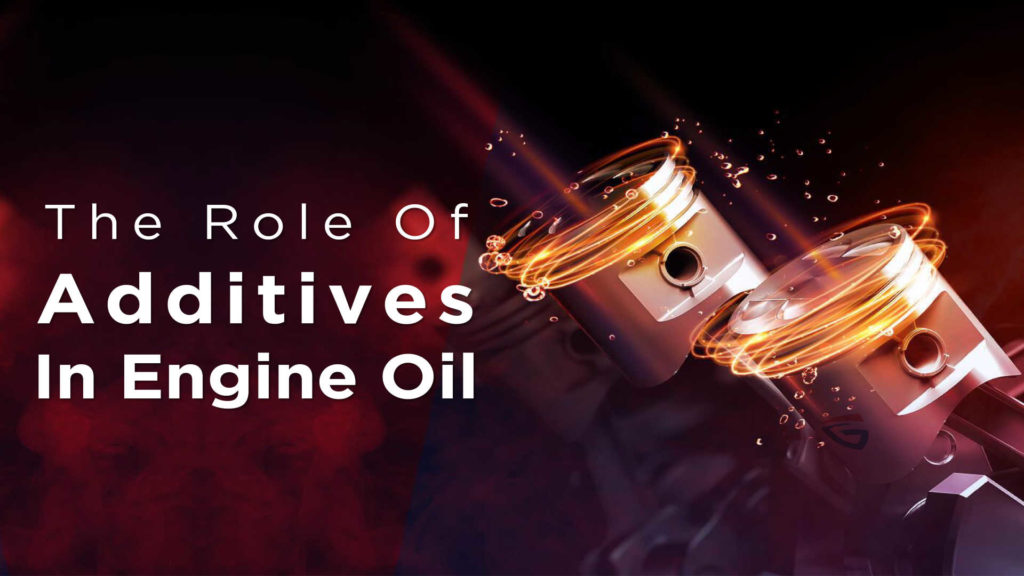 mostly used engine oil additives and what does it work