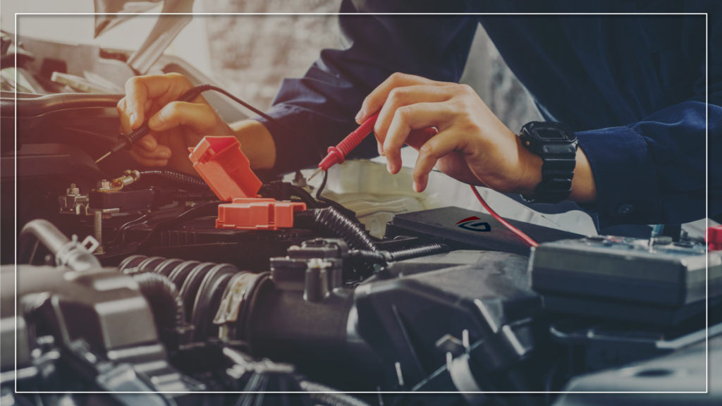 check car battery before driving in monsoon